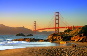baker beach is a state and national public beach on the pacific ocean coast on the san francisco peninsula